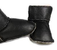 girls sheep leather shoes