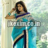Indo Western Party Wear Saree