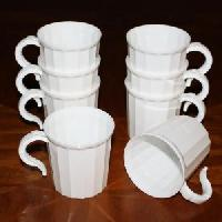 plastic disposable tea cups