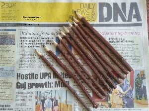 Eco Friendly wooden Handicraft natural hand made neem twig Pen Pencil