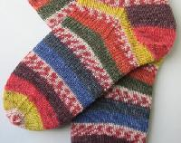 Hand Knitted Item Socks