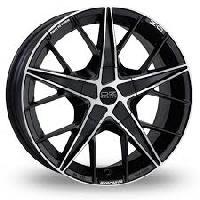 Quaranta Black Polished Wheels