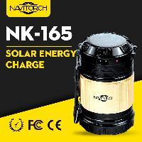 Dual Usage Portable Light Solar Recharge Camping Lantern (nk-165)