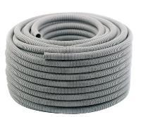 grey pvc flexible conduit pipe