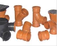 underground plastic fitting pipes