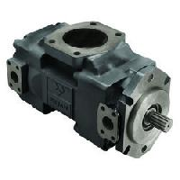 hydraulic double delivery pump