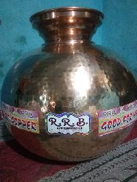 Copper Round Water Pot