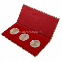 30 gm Gold Plated Silver Queen Victoria & King George Coins