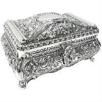 Silver Jewelery Box