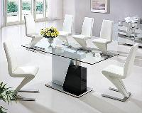 Designer Glass Dining Table