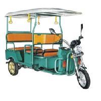 Solar Battery Operated Rickshaw