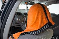 Towel Car Seat Cover