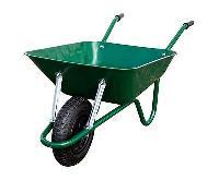 Green Tyre Trolley