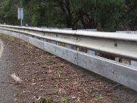 W Beam Metal Crash Barrier
