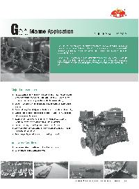 Marine Diesel Propulsion Engine