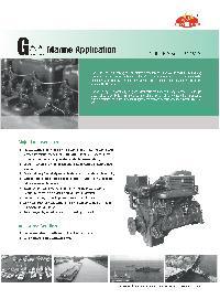 Marine Diesel Propulsion Engine