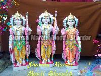 Ram Darbar White Marble Statue