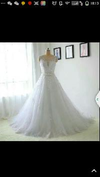 Tulle And Applique Ball Gown