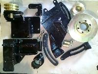 Ac Bus Alternator And Compressor Bracket