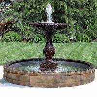 Fiberglass Garden Fountains