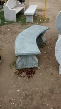 Stone Bench Without Back