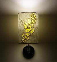 Wall Light with Flower Design