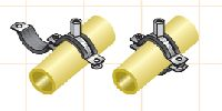 Rubber Lined Split Clamps