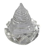 Crystal Lotus with Shree Yantra