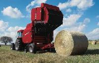 Round Straw Baler