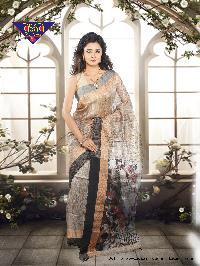 Gicha Jamdani Span PaarReshom 100% Silk tested jori