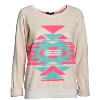 Ladies Printed Sweatshirt
