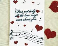 Musical Card For Valentine