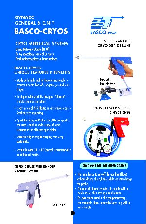 Cryo Surgical System