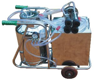 Trolley Mounted Milking Machine