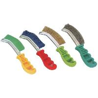 Knife Shape Plastic Handle Brushes