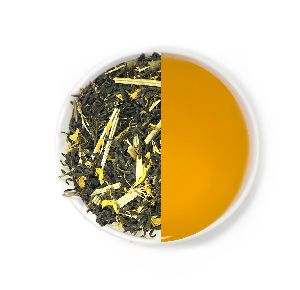 Halmari Gold Lemon Green Loose Leaf Tea