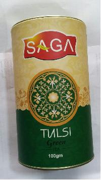 Saga Green Tea Premium Tulsi