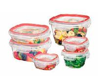Plastic Food Storage Boxes