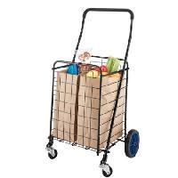 Rolling Shopping Trolly Basket