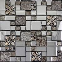Glass Crystal Mosaic Tiles