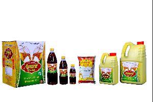 Amrit Gold Mustard Kachchi Ghani Oil