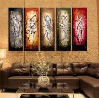 Modern Abstract Huge Wall Art Oil Painting