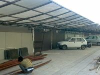 Frp Parking Shed Fabrication Services