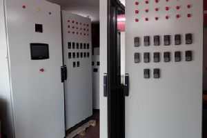 PLC and Scada Panel