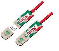 Cricket Bat Shaped Pen Drive