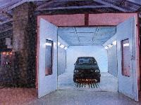 Car Spray Booth Oven