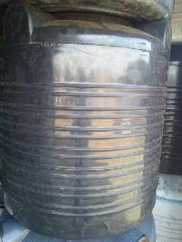 Black Plastic Water Tanks
