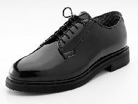 Police Black Shoes