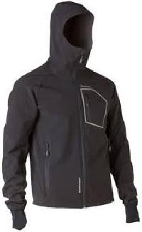 Full Sleeves Hooded Polyester Jacket