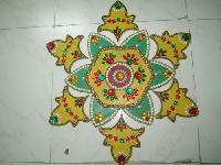 Decorative Wooden Rangoli